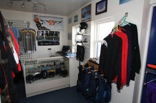 Skydiving Equipment Shop